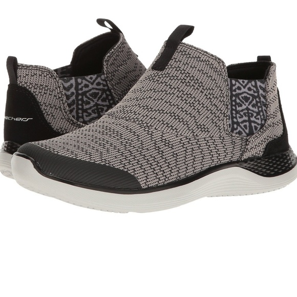 Skechers Knit Chelsea Slip On Bootie | chaussures